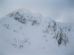 North face of Stob Ban