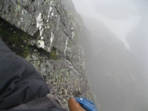 Ab'ing in to Comb gully