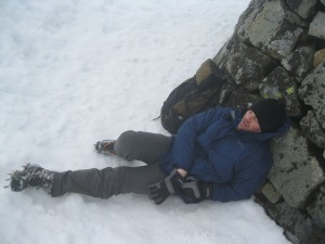 Sometimes the reality of the summit of Ben Nevis